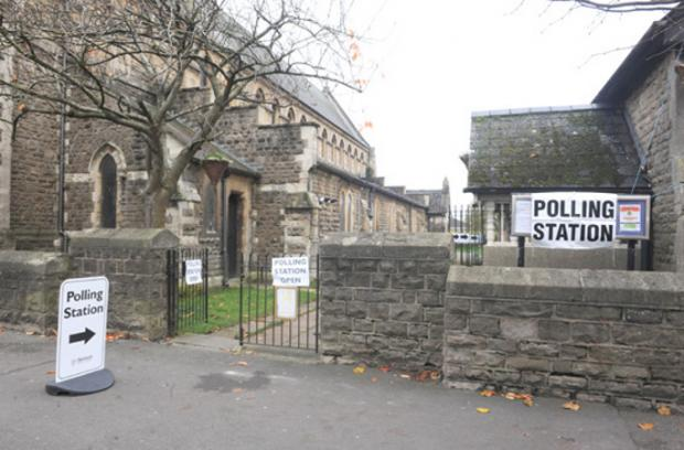 Polling stations open for businesses across Wiltshire