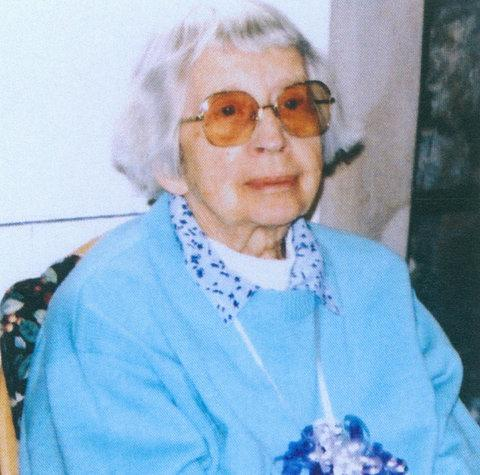 Kathleen Bull in later years