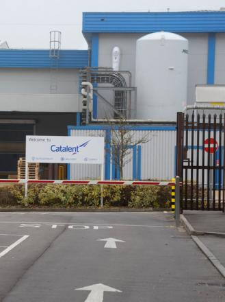 Catalent, in Frankland Road, Blagrove Industrial Estate