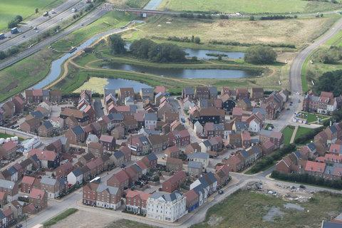Aerial view of Wichelstowe