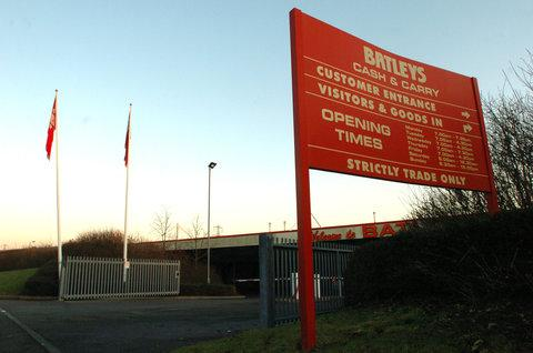 Batleys, in Blagrove Industrial Estate, where the dog was last seen