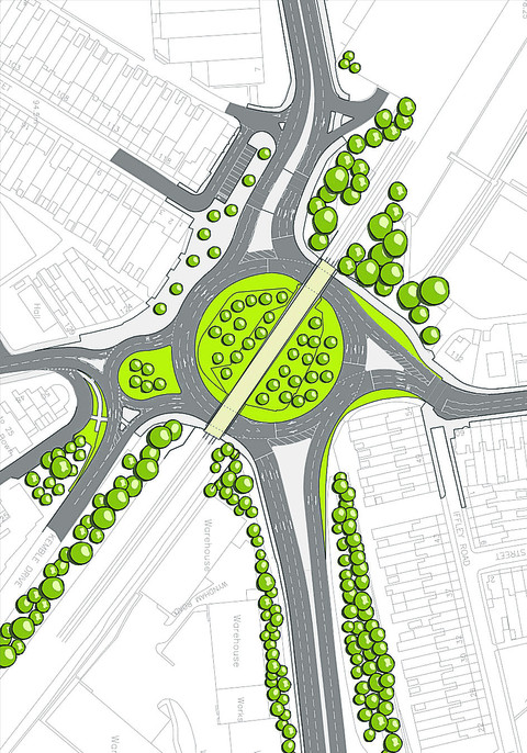 Updated plans for roundabouts on Great Western Way, Swindon to be revealed
