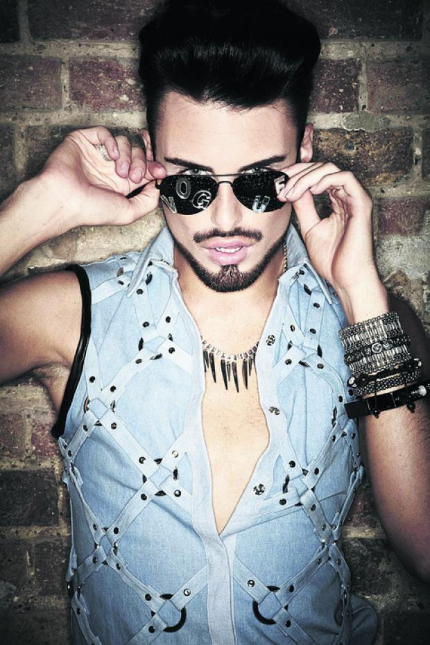 Rylan Clarke is supporting Jahmene Douglas for X Factor glory