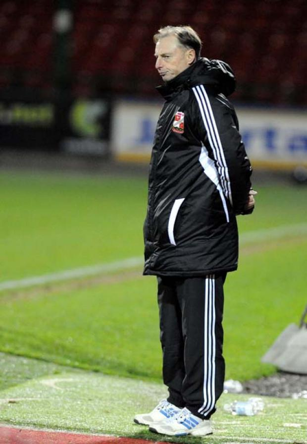 Swindon Town youth team coach Paul Bodin