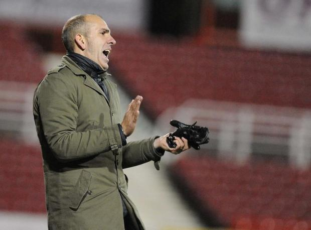 Swindon Town boss Paolo Di Canio