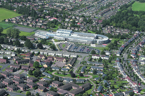 An aerial view of Swindon Academy