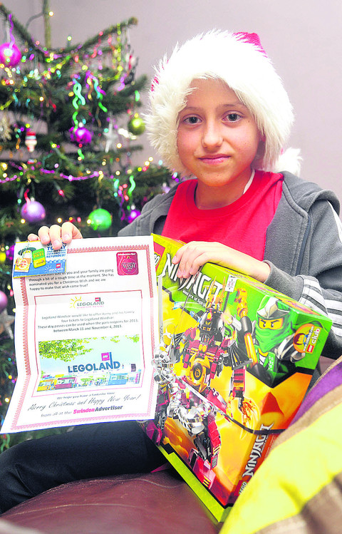 Christmas Wish Appeal 2012: Harry off to Legoland