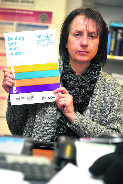 Angie Smith, case worker at Swindon Citizens Advice Bureau