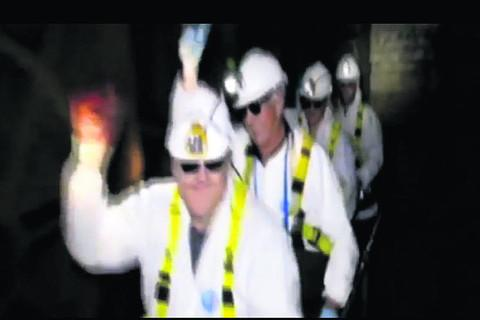 Thames Water's singing sewermen in the YouTube video
