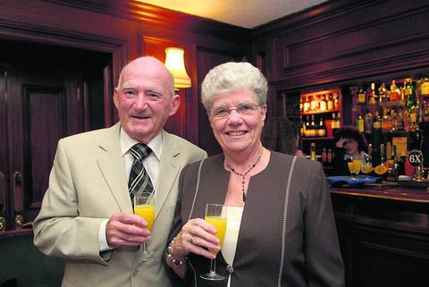 Barrie Smith with his wife Kathleen