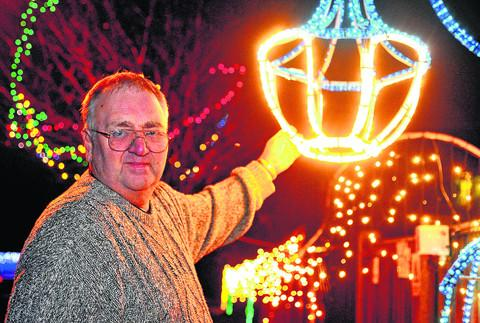 Swindon Advertiser: Drivers gave just £1 to see charity lights in Colewview