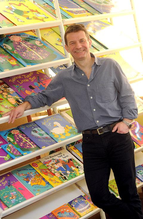 Child's Play publisher and managing director Neil Burden