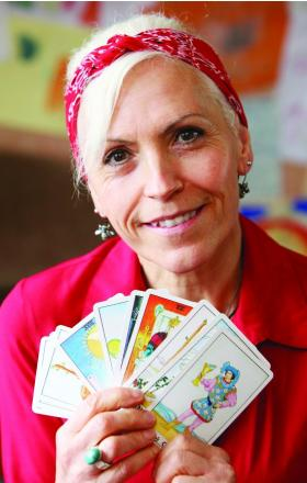 CARD SHARP Joy Hanley has launched a Facebook site offering Tarot readings   	                      Picture: STUART HARRISON