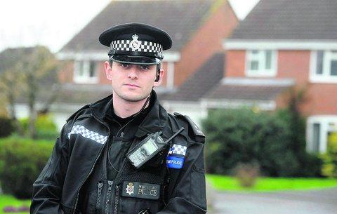 PC Tom Turner, who has warned householders to keep their homes, cars and garages secured