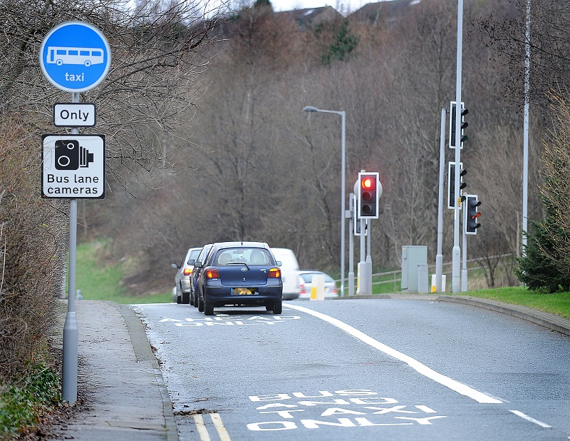 More than 5,500 motorists caught by Swindon's new bus lane cameras in first month