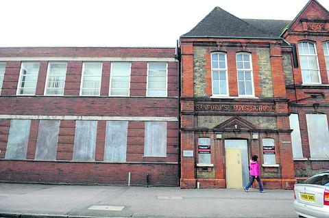 Former Sanford Street School is lying enpty