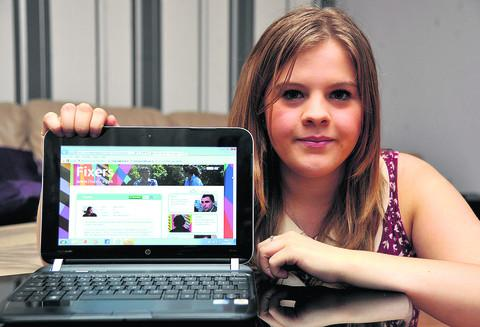 Sophie Thorne has made a film about her experiences with cyber bullying