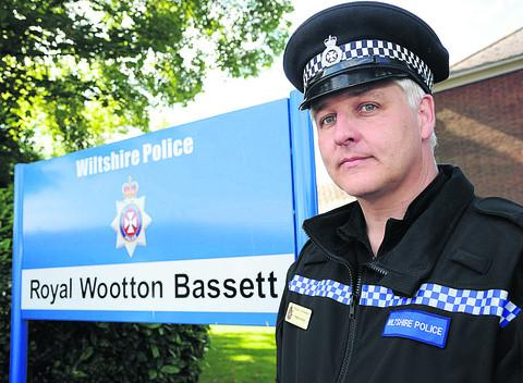 Sergeant Martin Alvis is warning residents after a spate of car break-ins in Royal Wootton Bassett took place over the past month.