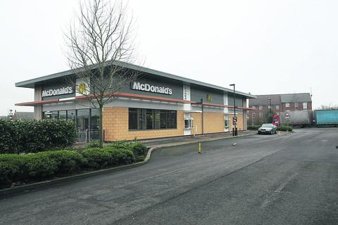 McDonalds at the Orbital centre Swindon which has applied for permission to open longer