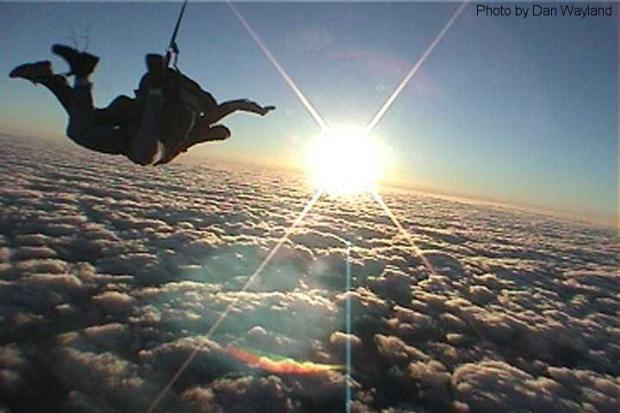 Skydivers wanted to aid charity