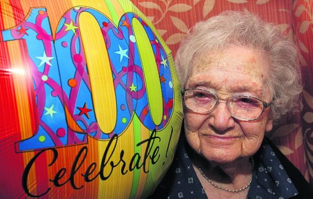 Turning 100? It's just like any other day, says Millie
