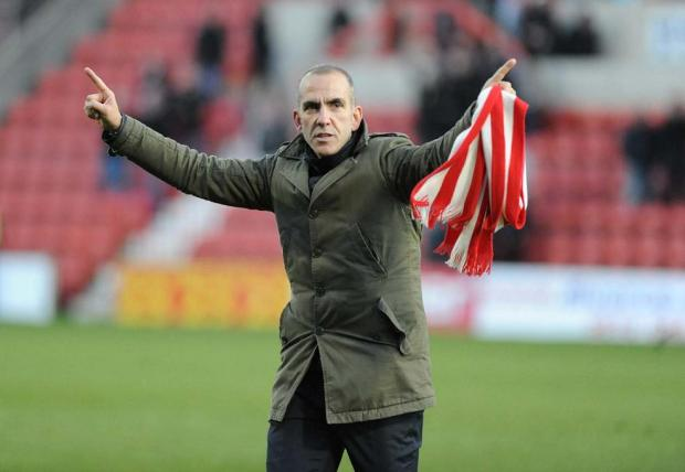 Paolo Di Canio made a 1am trip to the County Ground