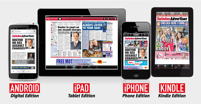 Swindon Advertiser: SA Devices App