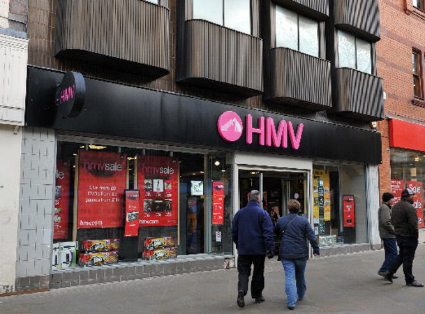 Swindon HMV store to close