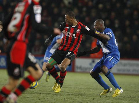 Swindon Town submitted a bid for Wes Thomas of Bournemouth a week ago