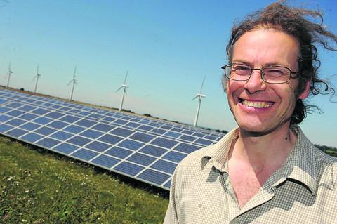 Adam Twine of Westmill Solar Farm