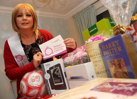 Tracey Toop is battling ovarian cancer and held a fundraiser for Target Ovarian Cancer