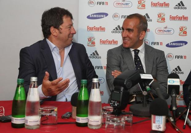 Phil Spencer (left) and Paolo Di Canio (right)