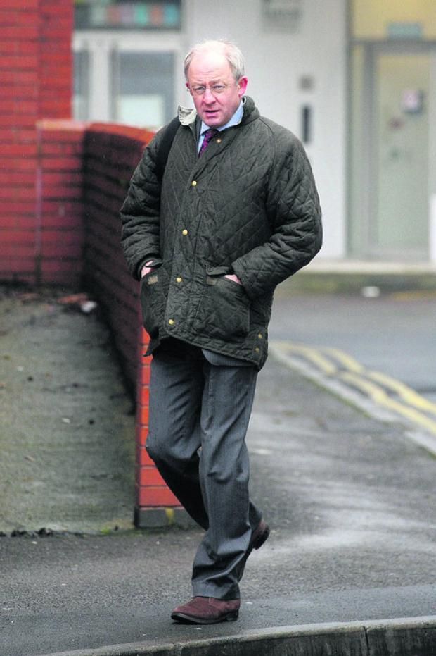 Former officer Robert Jolleys at Swindon Crown Court