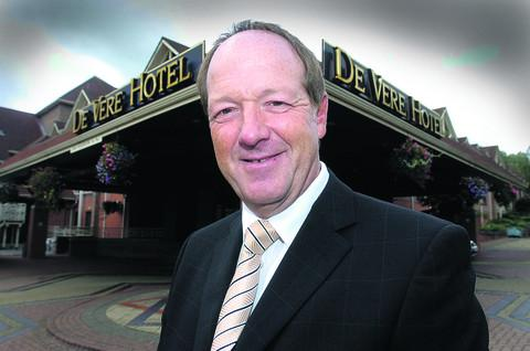 Andrew Spink, the manager of the De Vere Hotel in Shaw Ridge