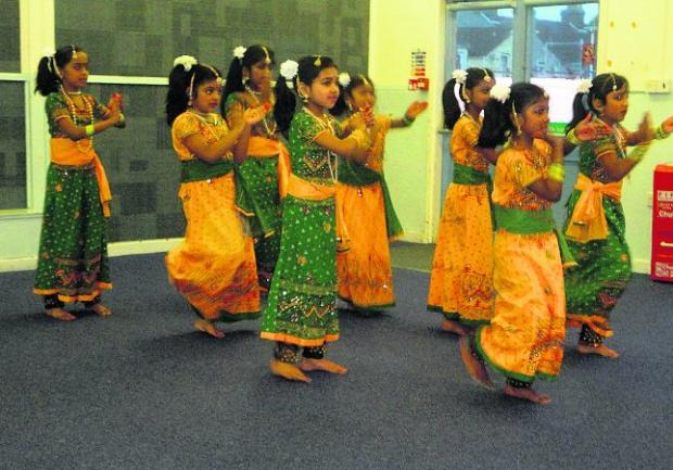 Culture event: Children from the Tamil Association