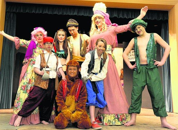 WHO'S BAD? Dress rehearsal of Purton Am Dram panto Sinbad the Sailor Picture: SIOBHAN BOYLE