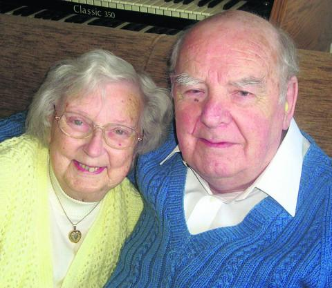 Barbara and Charles Burgin are celebrating their diamond wedding anniversary