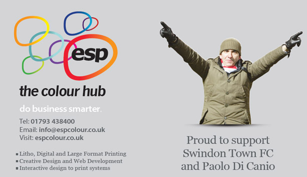 Swindon Advertiser: ESP - The Colour Hub are proud to support