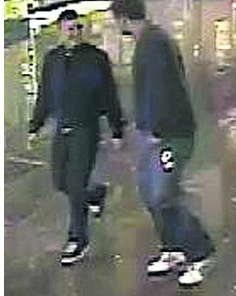 Men sought in connection with robbery