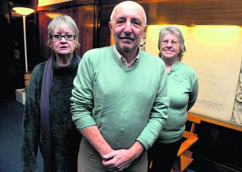 Swindon Advertiser: The Swindon Older People's Forum is seeking reassurances over Swindon Borough Council's plan to create a wholly commercial bus network. Pictured are Stephanie Burrows, Dave Brown and Carol Brownlee
