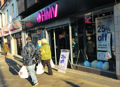 HMV is to continue trading for the time being