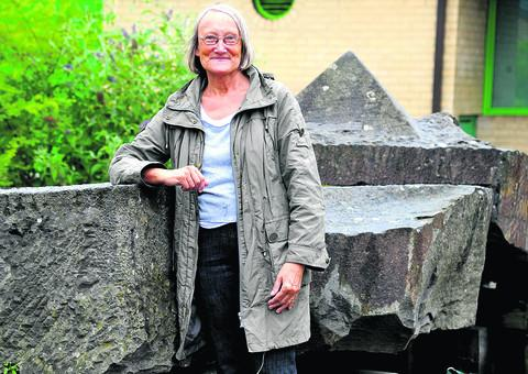 Coun Cindy Matthews, pictured in Toothill, where she wants the community to work together to find ways of spending its £1m