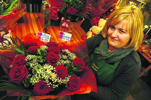 Lucy Doherty at the Flower Basket