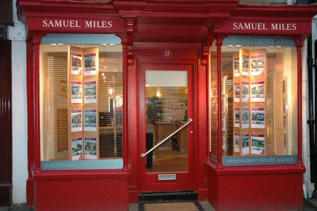 Swindon Advertiser: Samual Miles estate agents Highworth