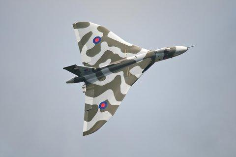 Restored Vulcan to take flight at Air Tattoo