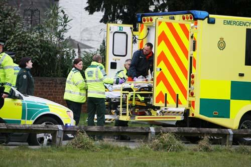 The scene of the accident in Haydon Wick last week