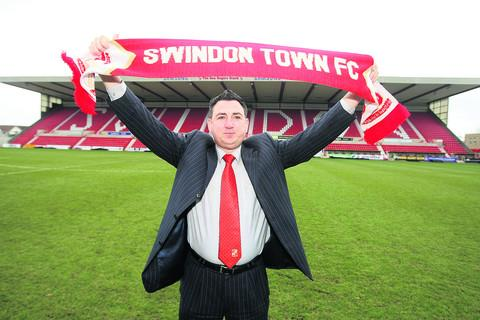 Swindon Town chairman Jed McCrory