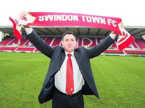 THE MAN IN CHARGE New Swindon Town chairman Jed McCrory   	                     		   Pictures: STUART HARRISON