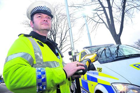 Swindon Advertiser: Sgt Chris Moore, of the Serious Collision Investigation Team