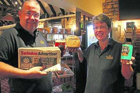 Donna and Vince Jones, of the Village Inn in Liddington, have opened up a grocery store in the corner of the pub